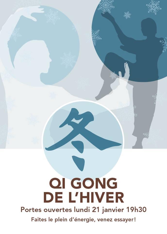 Cours de Qi Gong hiver 2019 (nouvelle date: 28 janvier)