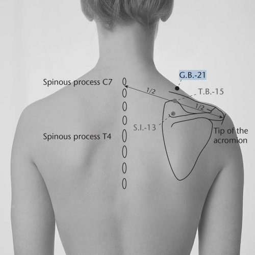 point acupuncture gb21